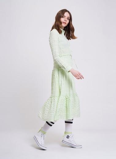 Mizalle Youth Elbise Yeşil